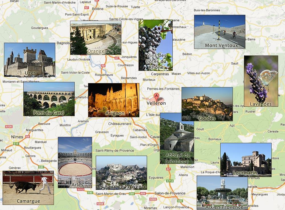 Visiter la provence villa velleron - Office du tourisme du vaucluse ...